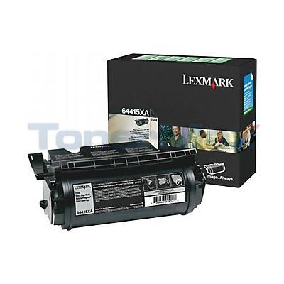 LEXMARK T644 RP PRINT CARTRIDGE BLACK 32K